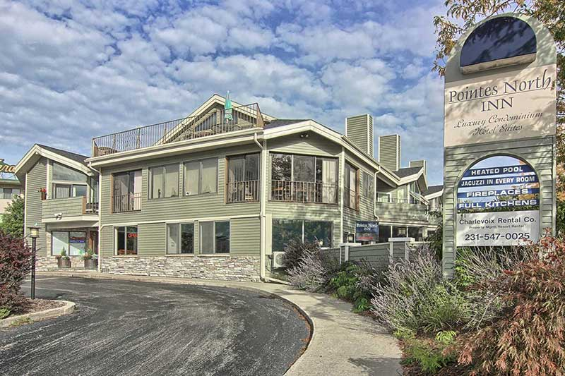 pointes north inn - charlevoix vacation rentals