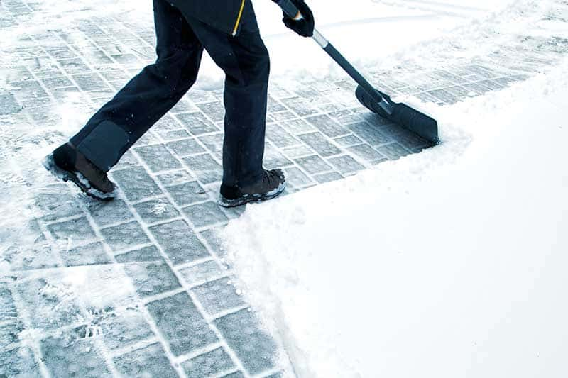 snow shoveling snow removal